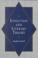 Evolution and literary theory by Joseph Carroll
