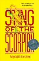 Sting of the scorpion by Marilyn Haddrill
