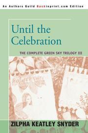 Until the Celebration PDF