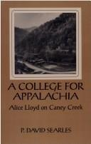 A college for Appalachia by P. David Searles