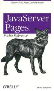 JavaServer pages by Hans Bergsten