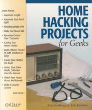 Home hacking projects for geeks by Anthony Northrup
