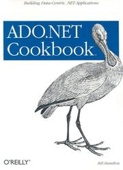 ADO.NET cookbook by Hamilton, Bill.