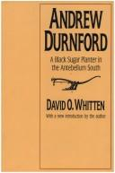 Andrew Durnford by David O. Whitten