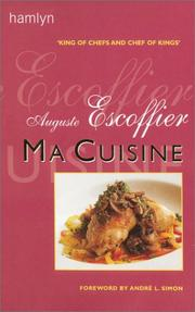 Ma cuisine by A. Escoffier