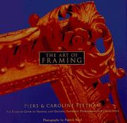 The art of framing by Piers Feetham
