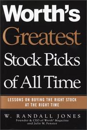 Worth's greatest stock picks of all time PDF