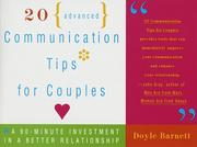 20 advanced communication tips for couples PDF