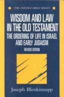 Wisdom and law in the Old Testament PDF
