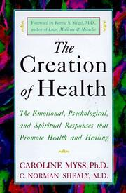 The Creation of Health PDF