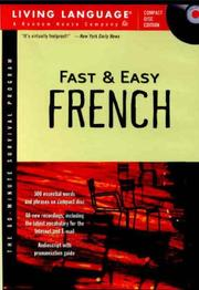 Fast and Easy French (Fast & Easy PDF