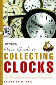 The Official Price Guide to Clocks PDF