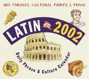 Latin 2002 Daily Phrase and Culture Calendar (LL(R) Daily Phrase Calendars) PDF