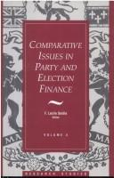 Comparative issues in party and election finance PDF