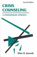 Crisis counseling by Ellen Hastings Janosik