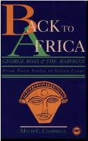 Back to Africa by Mavis Christine Campbell
