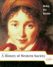 A history of Western society by John P. McKay