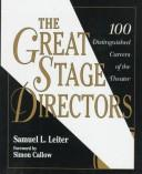 The great stage directors PDF