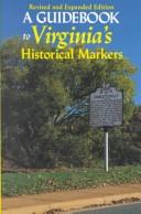 A guidebook to Virginia's historical markers PDF