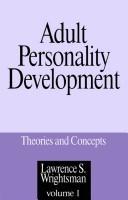 Adult personality development PDF