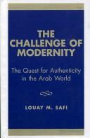 The challenge of modernity by Lu'ayy Ṣāfī