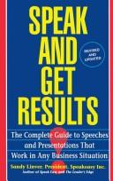 Speak and Get Results PDF