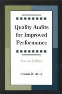 Quality audits for improved performance PDF