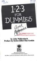1-2-3 for dummies quick reference by John Walkenbach