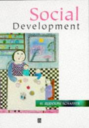 Social development by H. Rudolph Schaffer