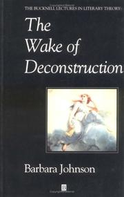 The wake of deconstruction PDF