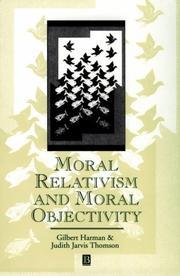 Moral relativism and moral objectivity PDF