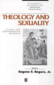Theology and Sexuality PDF