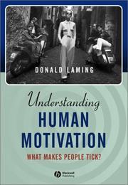 Understanding human motivation PDF