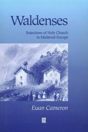 The Waldenses by Euan Cameron
