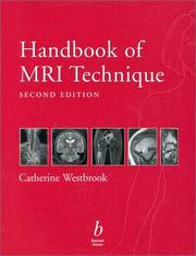 Handbook of MRI technique by Catherine Westbrook