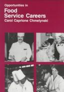 Opportunities in food service careers PDF