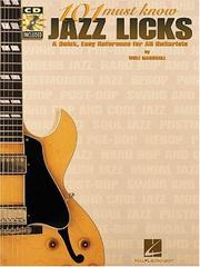 101 Must-Know Jazz Licks PDF