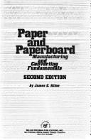 Paper and paperboard by James E. Kline