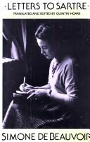 Lettres à Sartre by Simone de Beauvoir