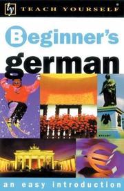 Teach Yourself Beginner's German PDF