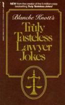 Blanche Knott's truly tasteless lawyer jokes PDF