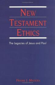 New Testament ethics by Frank J. Matera