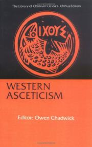 Cover of: Western asceticism by Owen Chadwick