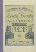 Poems by D. H. Lawrence