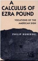 A calculus of Ezra Pound PDF