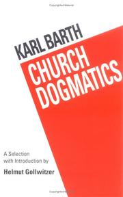 Kirchliche Dogmatik by Karl barth