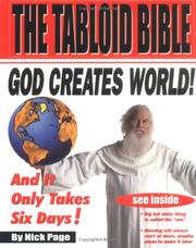 The tabloid Bible PDF