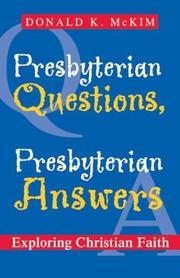 Presbyterian Questions, Presbyterian Answers PDF