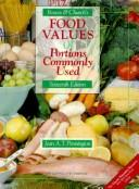 Food values of portions commonly used by Anna De Planter Bowes