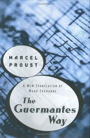 A la recherche du temps perdu by Marcel Proust